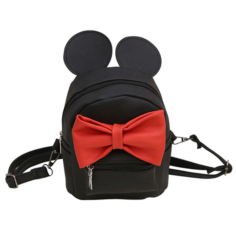 Limit discounts Mini Girls Bags Women Backpack PU Leather Fashion Girls Backpacks Small Cute Hot Color Woman Backpacks Сумка