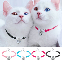 cute-cat-dog-collar-puppy-necklace-small-dogs-cats-collars-pet-accessories-with-heart-pendant-for-kitten-chihuahua-pink