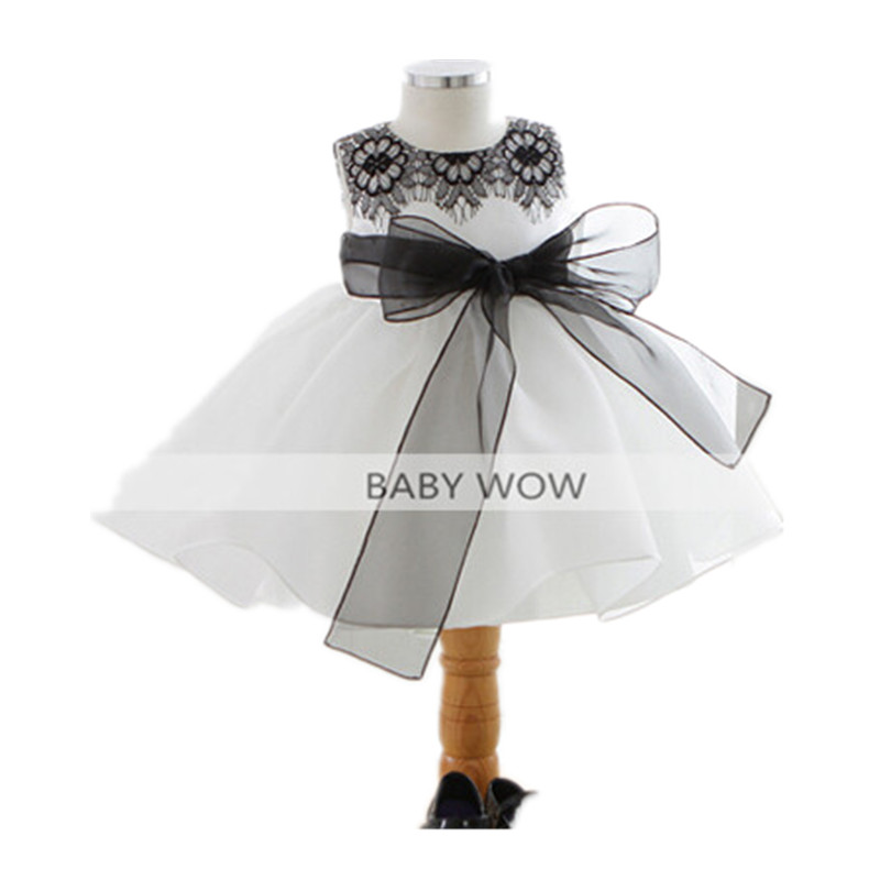 BBWOWLIN Baby Girl Dresses for 0-2 Years Little Girls Birthday Christmas First Communion 9088 baby s first christmas cd