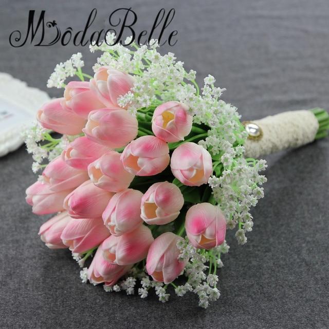 Старинные Звезды И Тюльпан Искусственные Свадебные Букеты Для Невесты Девушки Цветка Невесты Гялин Buketi Свадебный Букет