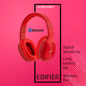 Image 2 - EDIFIER W800BT On ear headphones Wireless Bluetooth Headphones OLightweight comfort and up to 35 hours of Playback