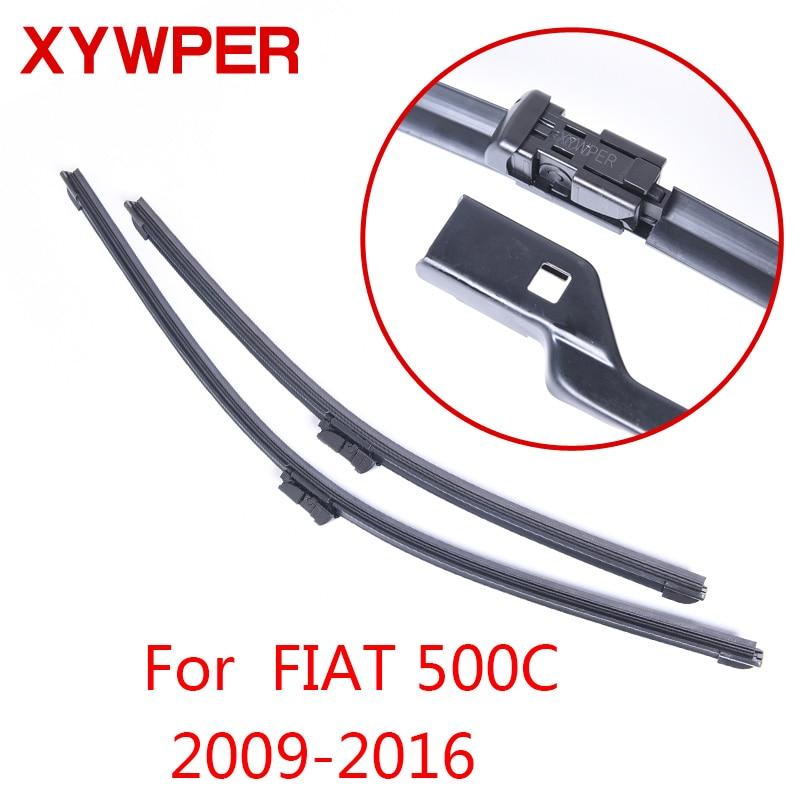 XYWPER Wiper Blades For Fiat 500C 2009 2010 2011 2012 2013