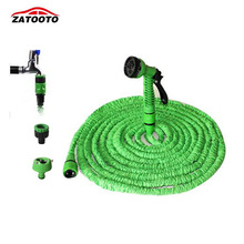 75FT/22.5M Car Pressure Washer Flexible Expandable Magic Garden Hose Car Washer Water Tool  Water Gun