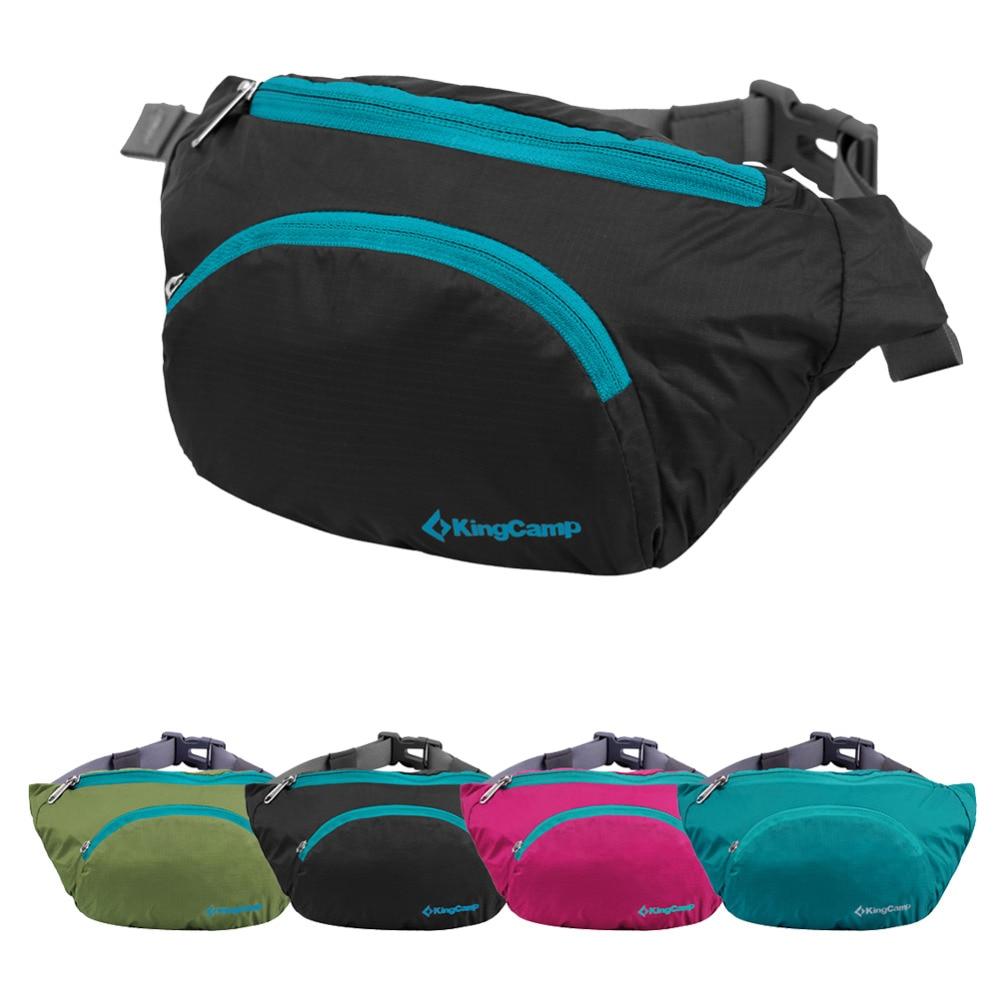 KingCamp étanche Léger sac de Sport camping voyage gym sac à dos sac de taille Nylon plié