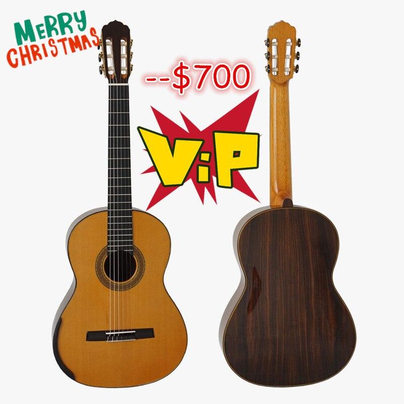 Aiersi Marque Maître Niveau Smallman Guitare Classique de maître luthier SC-098SG