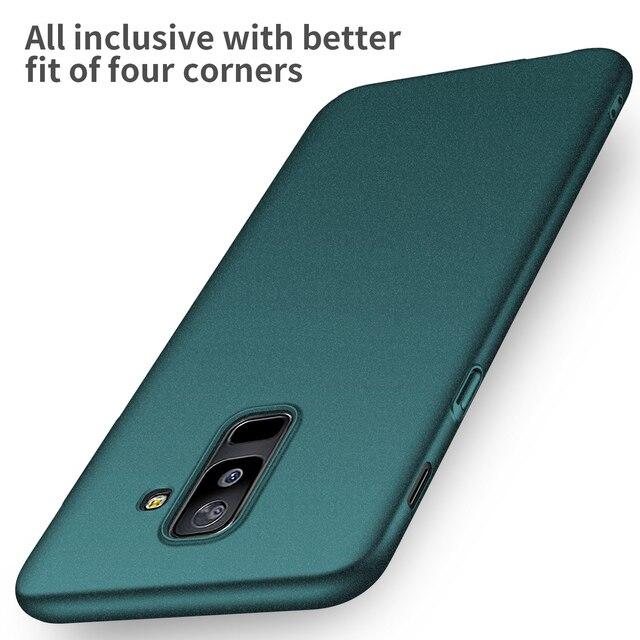 promo code f2b81 8a026 US $3.99 15% OFF|For Samsung Galaxy A6 A6Plus 2018 Case High quality Hard  PC Slim Matte Skin Protective Back cover case for samsung a6 plus 2018-in  ...