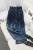 [Soonyour] 2016 otoño antiguas del restablecimiento espesan con pantalones de cintura de la tirantez casual directamente de la pierna pantalones de nueve partes mujer al5342