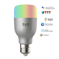 Smart Light Bulb WiFi LED Bulb Remote Control Dimmable RGB Color Changing 60W Equivalent E27 Compatible Alexa,Google Home IFTTT