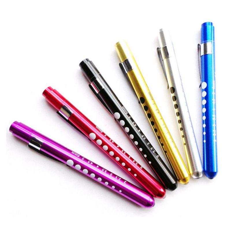 Mini Pen LED Flashlight Aluminum Medical Light