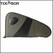 Tourbon-Tactical-Hunting-Gun-Accessories-Canvas-Army-Green-Handgun-Case-Thick-Soft-Padded-Pistol-Carrier-Holder
