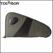Tourbon-Tactical-Hunting-Gun-Accessories-Canvas-Army-Green-Handgun-Case-Thick-Soft-Padded-Pistol-Carrier-Holder