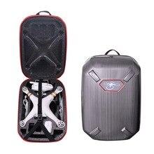 2017 DJI phantom 3 Hardshell Bag Backpack Shoulder Carry Case Hard Shell Box for DJI Phantom 3 Standard FPV Drone Quadcopter
