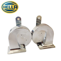 Hella Car Horn Snail Type Double Plug Double Tone 12V 510 410 Hz Original Imported Increase
