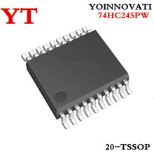50 шт./лот 74HC245PW 74HC245P 74HC245 HC245 IC TRANSCVR TRI-ST 8 бит 20tssop