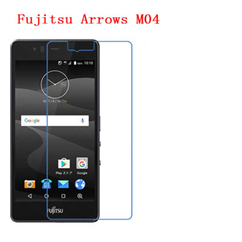 5 Pcs Ultra Thin Clear HD LCD Screen Guard Protector Film With Cleaning Cloth For Fujitsu Arrows M04 (AM04).