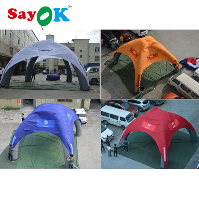 6m Dia High quality PVC inflatable canopy inflatable car garage sale inflatable spider tent  sc 1 st  AliExpress.com & 6m Dia High quality PVC inflatable canopy inflatable car garage ...