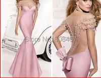 2017 бесплатная доставка V образным Вырезом MJ6125 Длинные Вечерние платья vestidos де феста