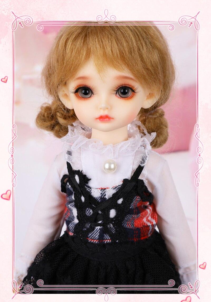 Lina BJD poupée 1/6 mignon boule articulée poupée résine fées meilleur cadeau d'anniversaire jouet pour fille