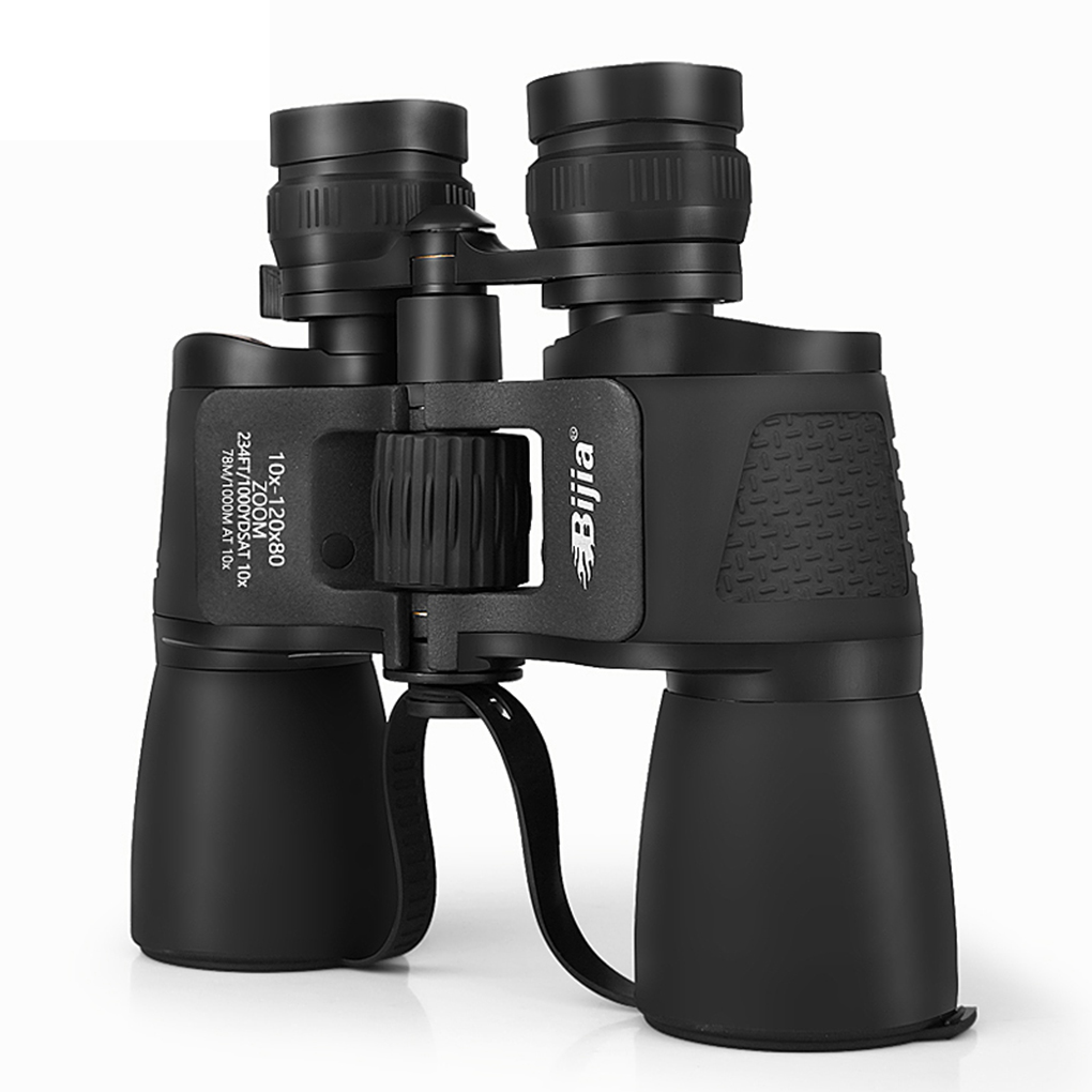 где купить 10-120X80 Long Range Zoom Hunting Telescope Binoculars High Definition Night Vision Scope BIJIA по лучшей цене