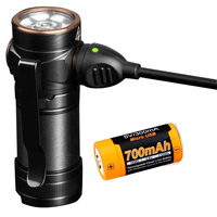 Fenix E18R 750 Lumen CREE LED USB rechargeable EDC/keychain Flashlight with ARB L16 700P power Li ion battery