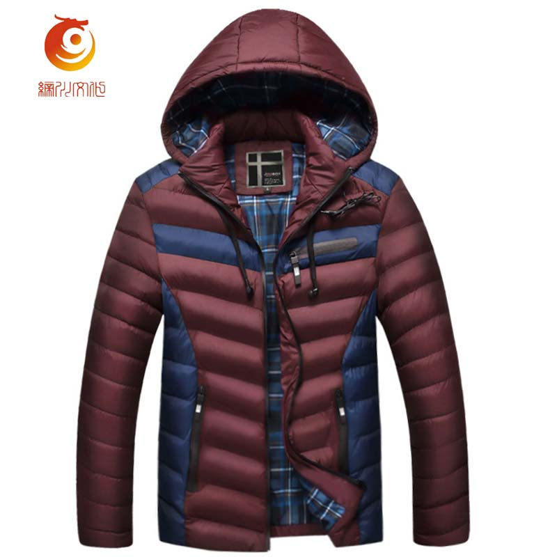 New Arrival Winter Parkas Jacket Men Warm Cotton Coat Mens Casual Hooded Jackets Thicking  Male Outerwear Size 4XL 2016 new long winter jacket men cotton padded jackets mens winter coat men plus size xxxl