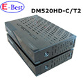 2017 Chegada Nova!! DM520hd DVB-C/T2 Tuner Linux os 2000 DMIPS Prozessor cpu Receptor de TV Full HD 1080 p dm520 vs meelo combo
