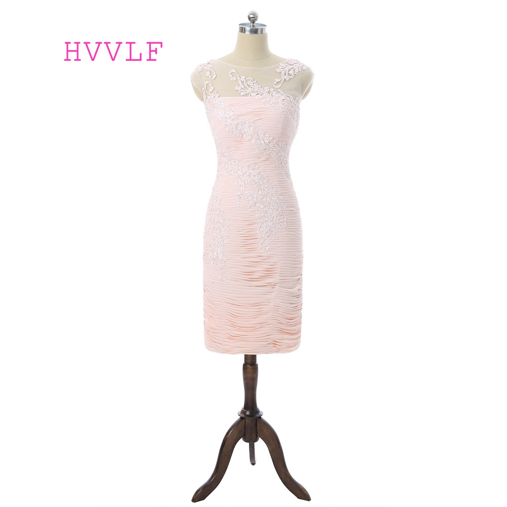 Pink Mother Of The Bride Dresses Sheath Cap Sleeves Chiffon Lace See Through Plus Size Groom Mother Dresses For Weddings