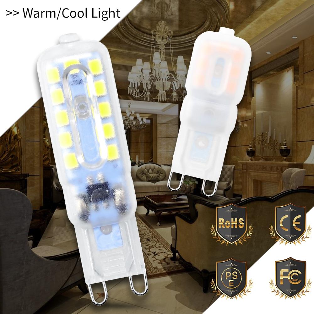 CanLing G9 Led 220V Spot Light G9 Mini Corn Light 2835 SMD Bombillas Led 3W 5W Ampul 240V Spotlight Bulb Replace Halogen Lamp