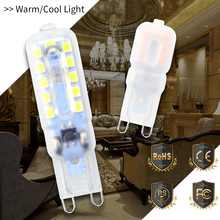 CanLing G9 led 220V Spot Light g9 Mini Corn Light 2835 SMD Bombillas Led 3W 5W Ampul 240V Spotlight Bulb Replace Halogen Lamp цена в Москве и Питере