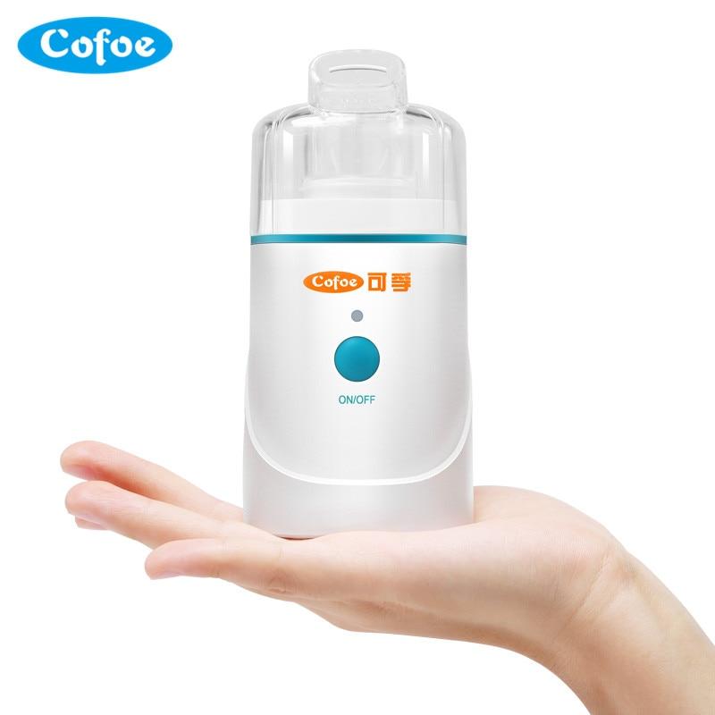 Cofoe Nebulizer Apply Advanced Piezoelectric Technique Innovation Home Health Care Portable Nhalation Therapy New Model home health care portable automizer ultrasonic nebulizer
