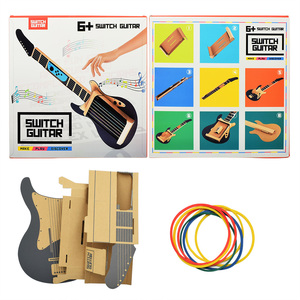 Image 5 - ThundeaL Gardboard DIY guitarra para Nintendo Switch Labo Joy con, variedad de guitarras, Kit de música para jugar en el garaje con juguetes