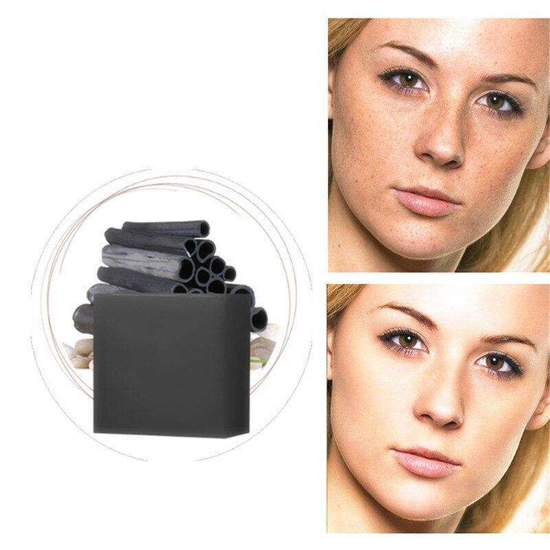 Tea Tree Nature Bamboo Charcoal Soap Acne Treatments Blackhead Remove Rich Foam Skin Shrink Pores Oil Control Firming Face Care