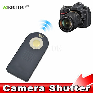 Image 1 - 20 stks/partij Draadloze Infrarood Afstandsbediening Sluiter voor Nikon ML L3 D7100 D7000 D90 D3300 D3200 1 V3 V2 DSLR Camera Controller