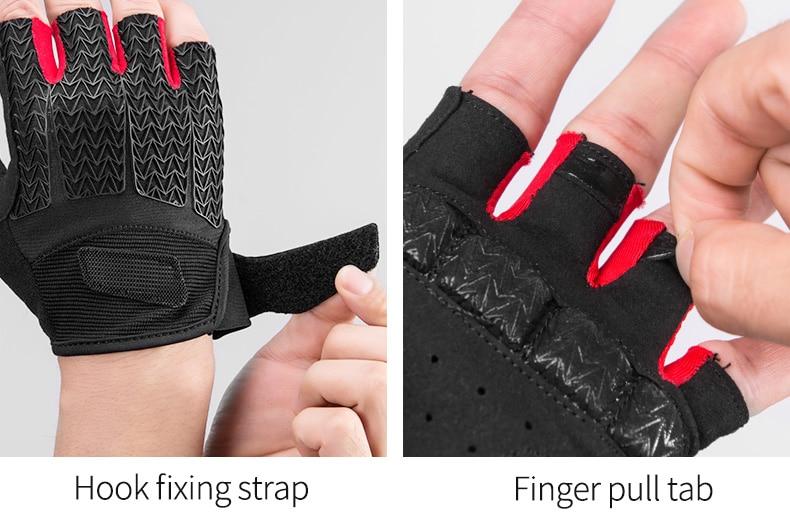 HTB1Xjb5OG6qK1RjSZFmq6x0PFXav - ROCKBROS Cycling Gloves MTB Road Gloves Mountain Bike Half Finger Gloves Men