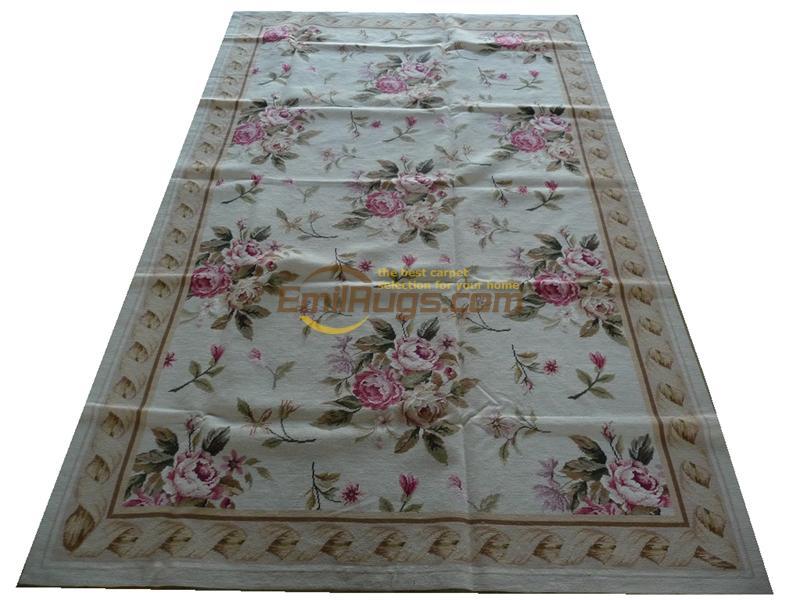 Tapis aiguille de chine tapis cousu à la main pour tapis salon musée laine de mouton naturelle