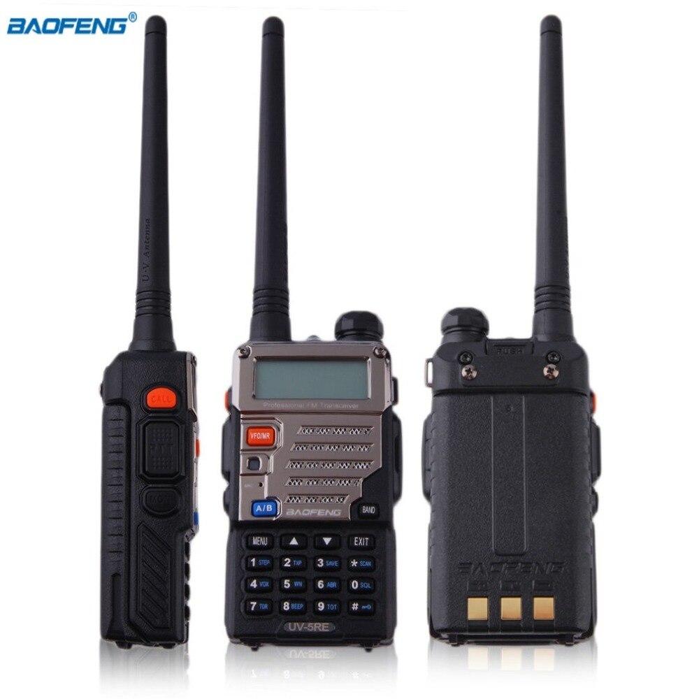 Baofeng Walkie Talkie 5W 128CH FM VOX DTMF Two-Way Radio High /Low RF LCD Display