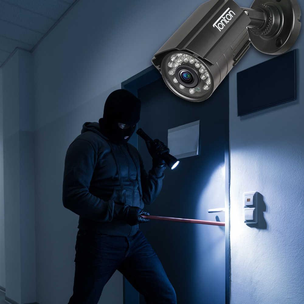 Набор из 4 шт. CCTV Камера аналоговый 960 H 1000TVL КМОП-матрица с отсекающим ИК-область спектра, набор из 24 штук, Ночное видение на открытом воздухе цилиндрическая камера видеонаблюдения Водонепроницаемая камера видеонаблюдения