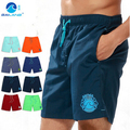 GL Марка Высокое Качество Мужчины мода дизайн быстрое высыхание эластичная талия пляжные шорты мужские твердые досуг плюс размер шорты