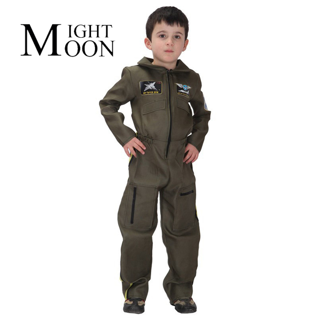 MOONIGHT New Halloween Costumes Kids Boy Army Cosplay Costumes Air Force Performance Costumes Childrenu0027S Day Gift  sc 1 st  AliExpress.com & MOONIGHT New Halloween Costumes Kids Boy Army Cosplay Costumes Air ...