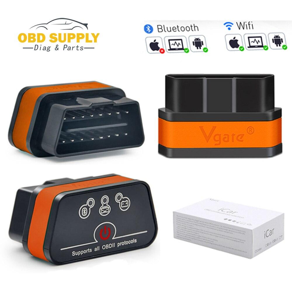 Code reader Vgate iCar2 ELM327 OBD2 Bluetooth Scanner iCar 1 5 wifi mini elm 327OBDII Diagnostic