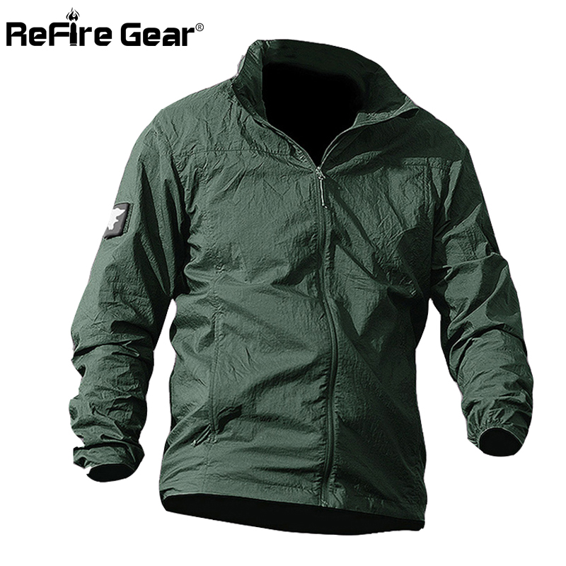 Summer Waterproof Quick Dry Tactical Skin Jacket Men UPF 50+ Breathable Hooded Raincoat Windbreaker Thin Army Military Jackets