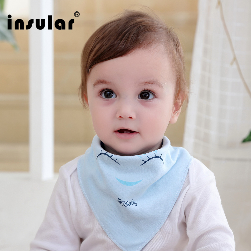 Insular Newborn Baby Bibs Soft Bib Burp Cloth For Babies Cute Girls Boys Bib Babies Clothing