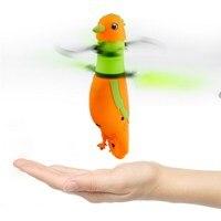Latanie Interaktywny Podczerwieni Indukcja Sterowania Drone Parrot Zabawki Dla Dzieci Zabawki Z Migającą Diodą LED Światła Śpiew Ptaków Latające Zabawki
