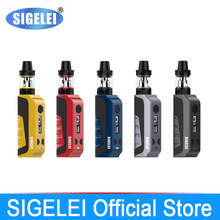 NEWEST Original Sigelei e electronic cigarette vape E1 Kit Poket vape kit mod with tank atomizer 10 – 80w