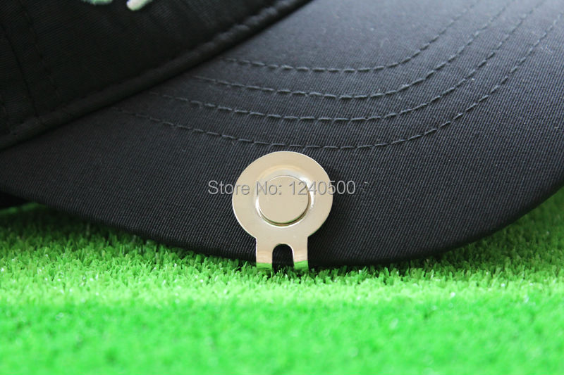 Free Shipping New House lizard Fine Metal Alloy Golf Cap Clip Golf Hat Clip  Golf Ball Marker 8b27d5fff994