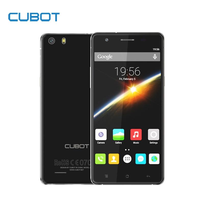 Original CUBOT X16S 5 0 Inch HD Screen font b Smartphone b font MTK6735A Quad Core