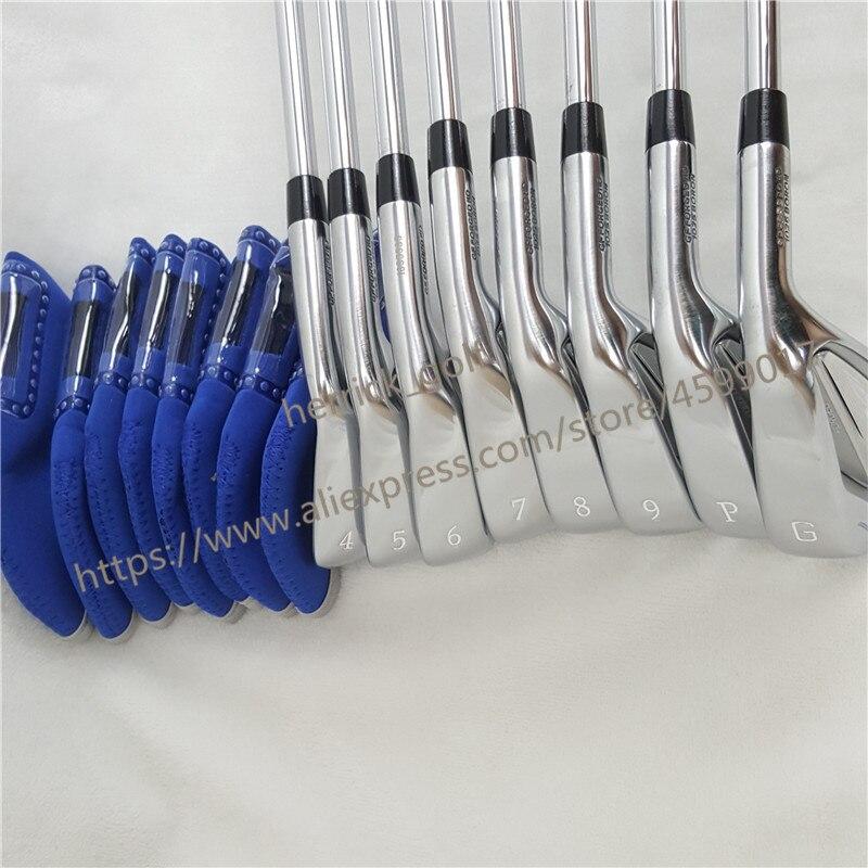 8 pièces golf fer JPX919 ensemble Golf forgé fers Clubs de Golf 4-9PG R/S Flex acier/Graphite arbre avec couvercle de tête - 3