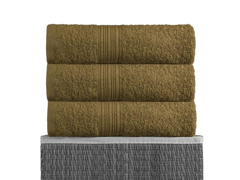 цены Towel bath BAYRAMALY, 100*180 cm, dark olive