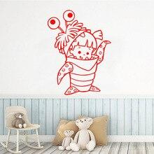 Cartoon little dinosaur Wall Sticker Pvc Stickers Art Paper Living Room Children Murals