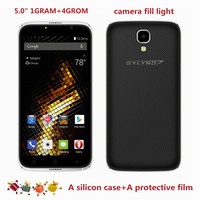 Cheap Celular BYLYND X6 Android 6 0 Original Smartphones Free Silicon Case 1G RAM Mobile Phone
